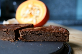 Pumpkin Brownie